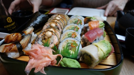 Sushi at Zaowang in Antwerp