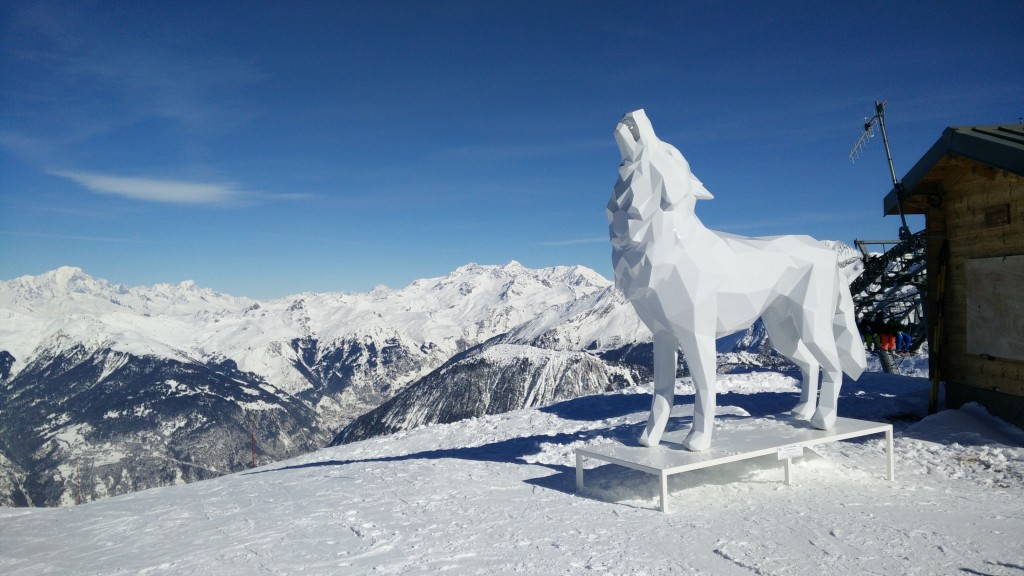 Wintersport Courchevel France