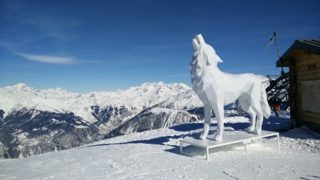 Wintersport Courchevel France