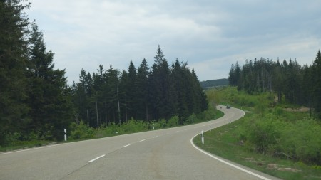 Schwarzwald B-route in Germany
