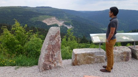 Schwarzwald panaromic view
