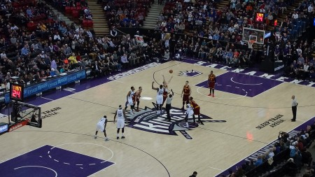Sacramento basketball match