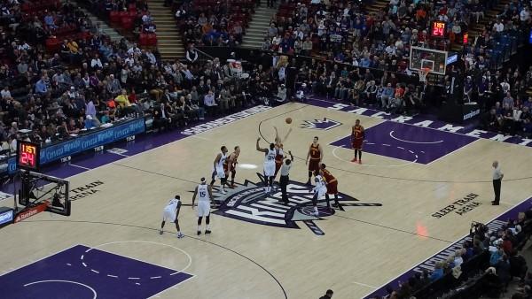 Sacramento basketball match
